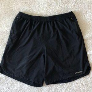 3/$50 Patagonia men's running shorts lined L